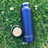 Montii Co Navy Insulated Bottle 600ml
