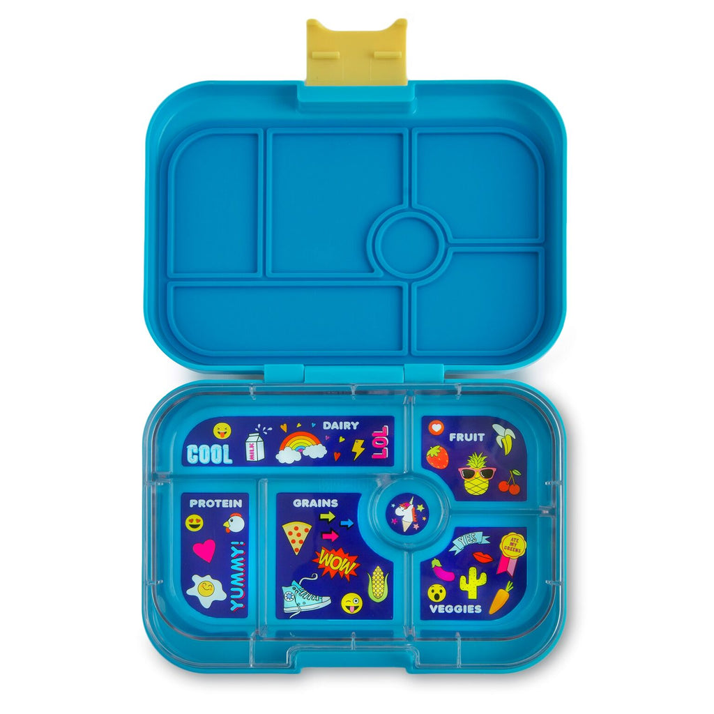 Yumbox Original (6 compartment) ~ Kai Blue