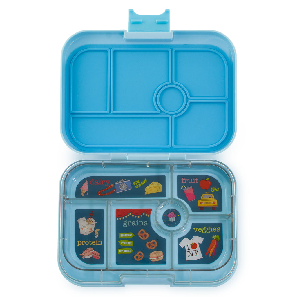 Yumbox Original (6 compartment) ~ Liberty Blue