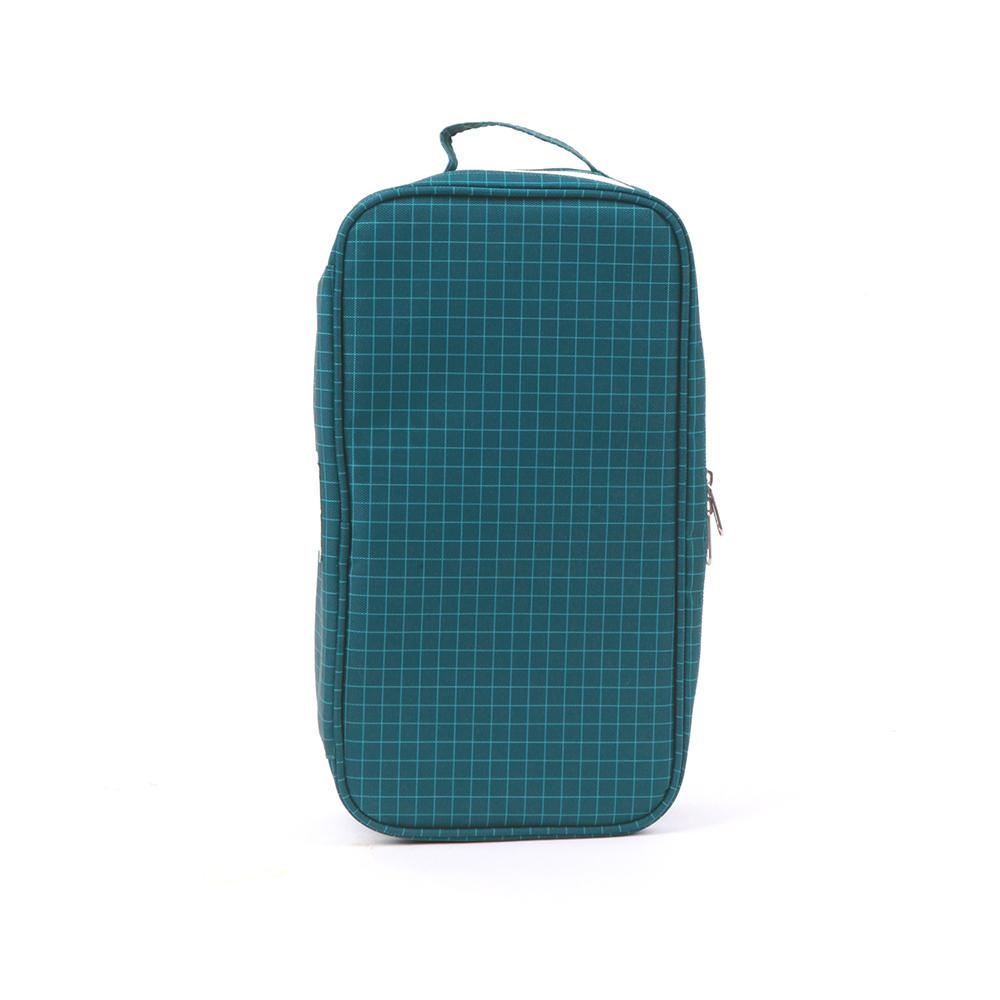 Love Mae Cooler Bag with Ice Brick ( Navy Grid)
