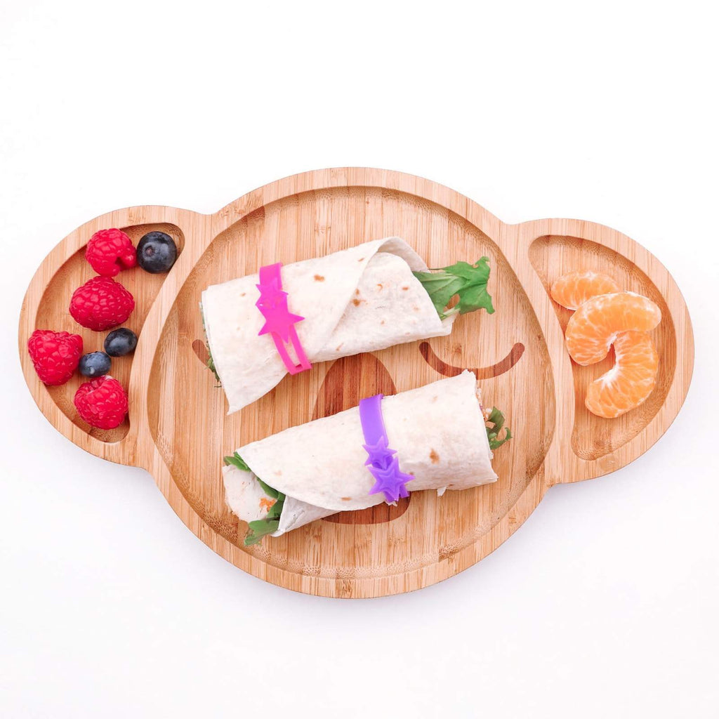Lunch Punch Silicone Wrap Bands ~ Pink