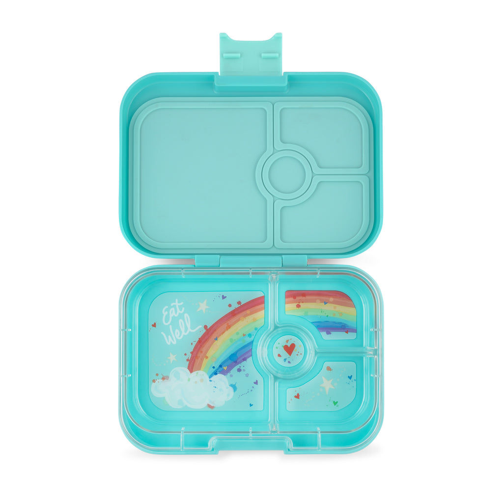 Yumbox Panino (4 compartment)  ~ Misty Aqua ( New )