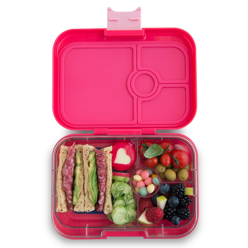 Yumbox Panino (4 compartment) ~Lotus Pink (NEW)