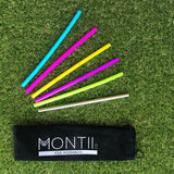 Montii Co Reusable MINI Silicone Straws ( 6 Pack) PRE-ORDER NOW
