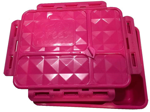 Go Green Pink Medium Lunch Box * NEW * - Available