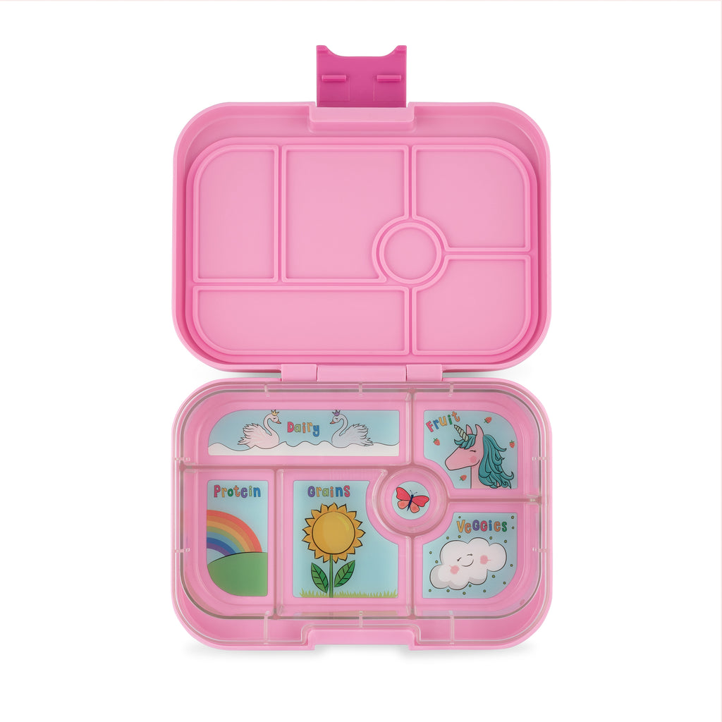 Yumbox Original (6 compartment) - Power Pink ( NEW)