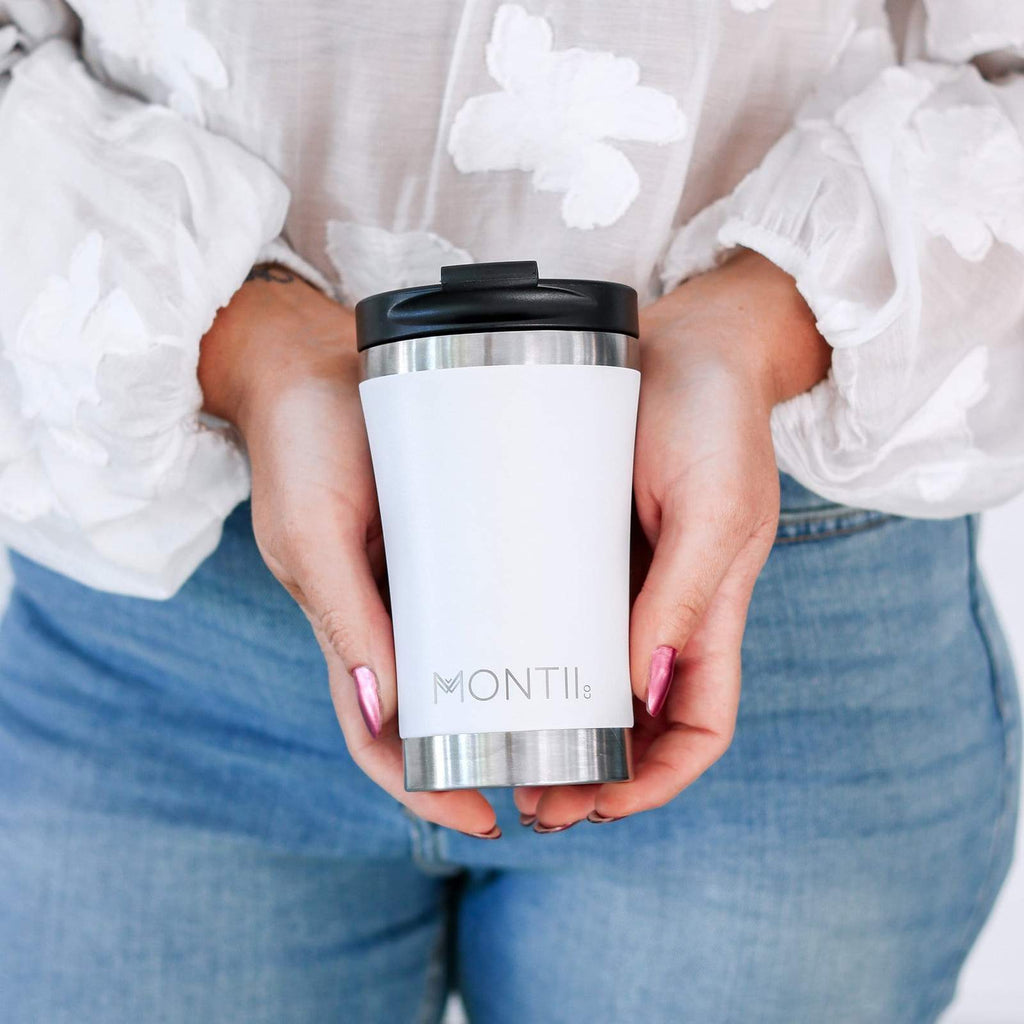 Montii Regular Coffee Cup  ~ White