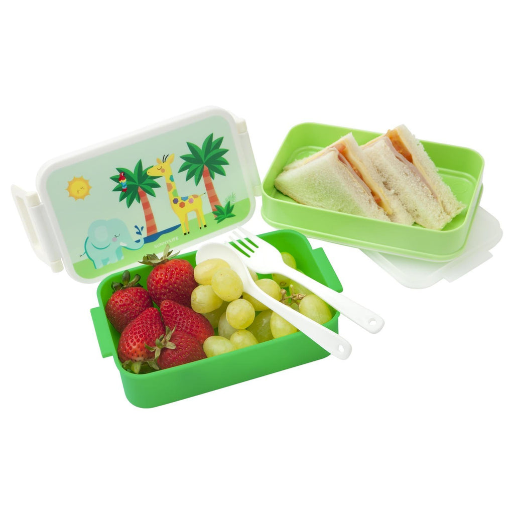 Kids Lunch Bento Box ~ Safari