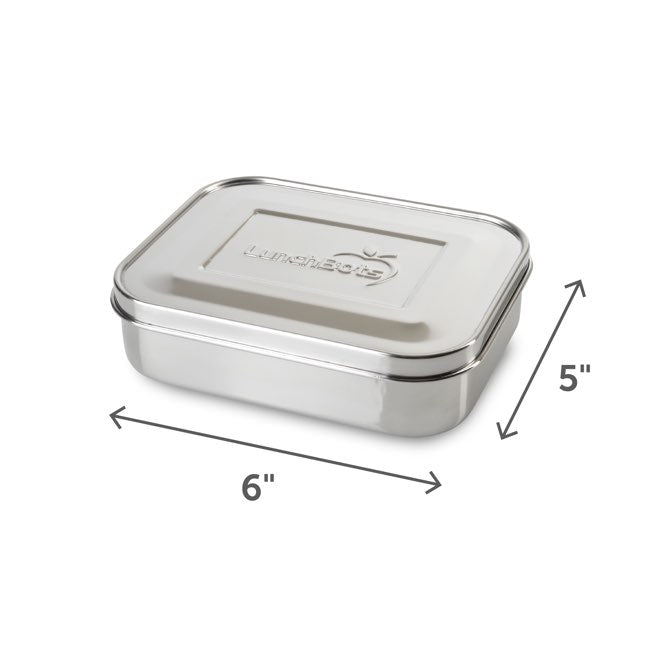 LunchBots Quad Stainless Steel