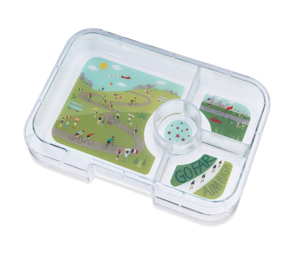 Yumbox Tapas (4-compartment) Bike Race