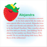 Beatrix New York Lunch Box ~ Alejandra the Strawberry ( NEW)