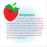 Beatrix NY Little Kid Pack: Alejandra the Strawberry