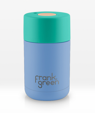 Frank Green Stainless steel Smart Cup 10 oz  ~ Little Boy Blue with Arcadia