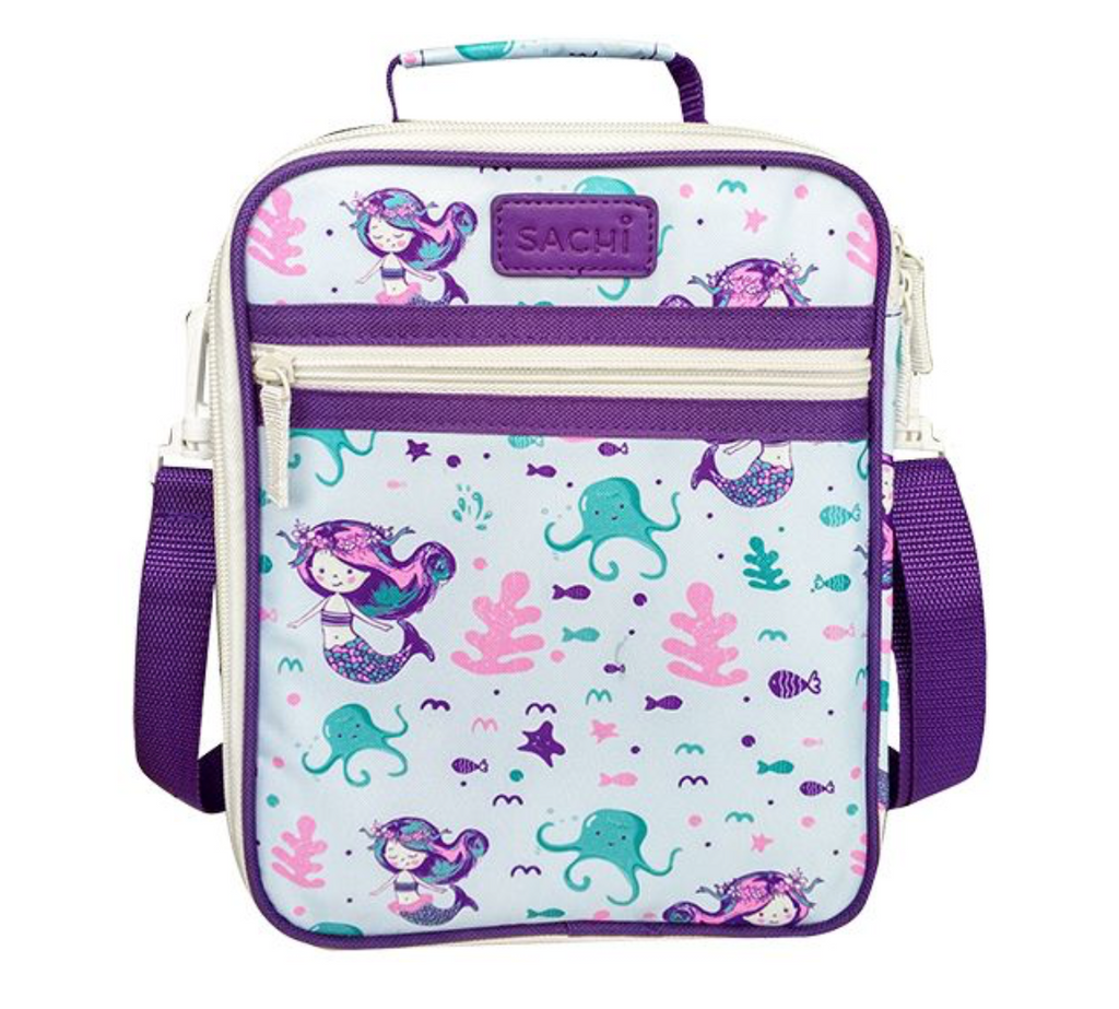 Sachi Insulated Kids Lunch Tote Mermaid