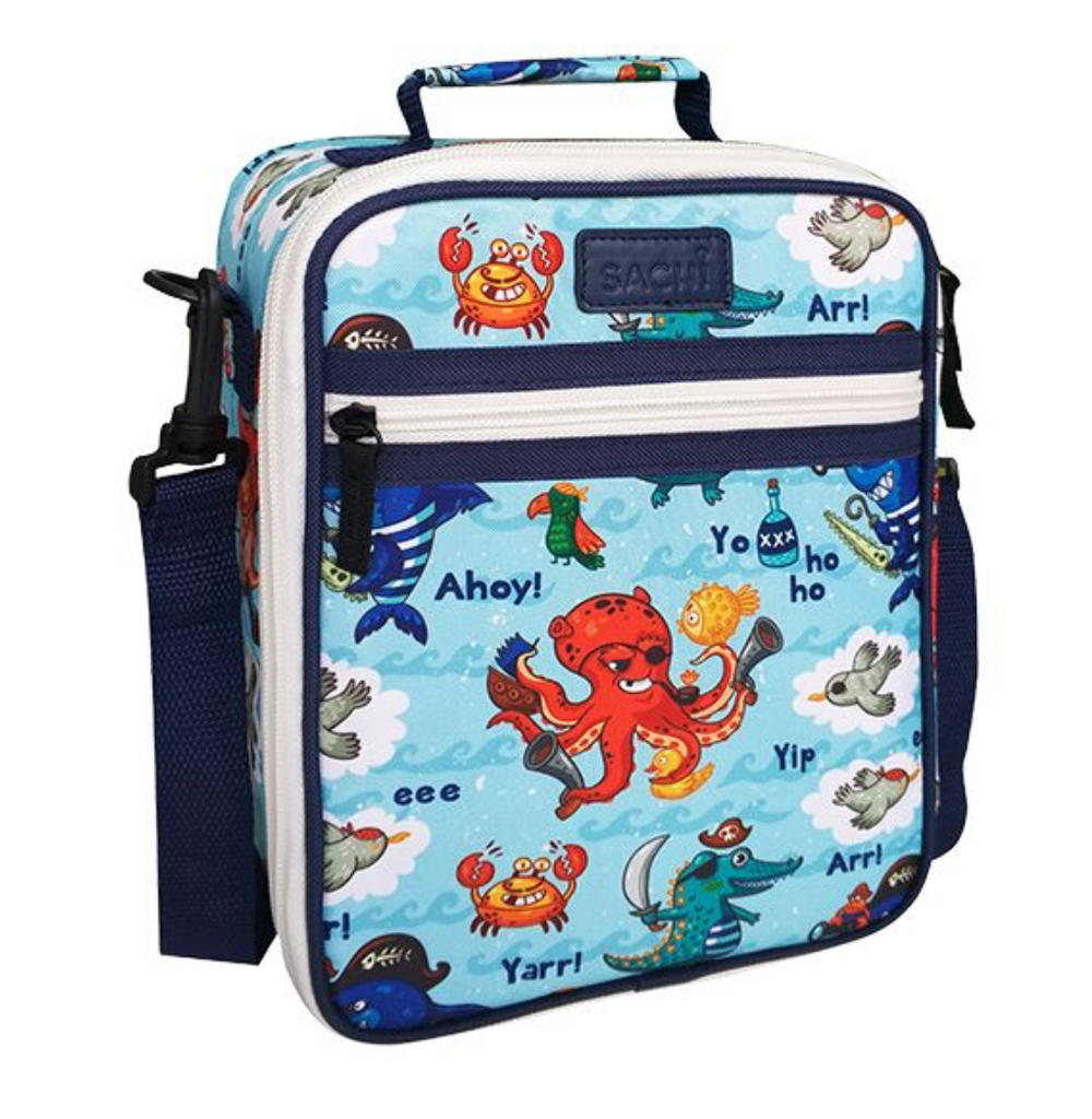 Sachi Insulated Kids Lunch Tote Pirate Bay