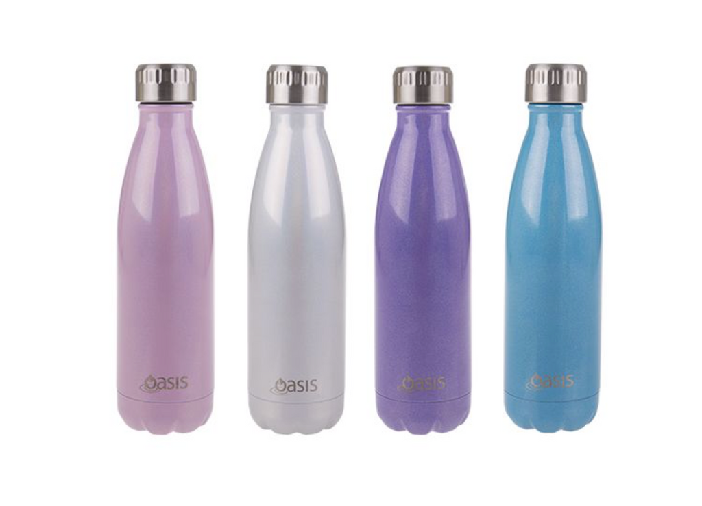 Oasis 500ml Drink Bottle Purple Lustre ( Double wall)