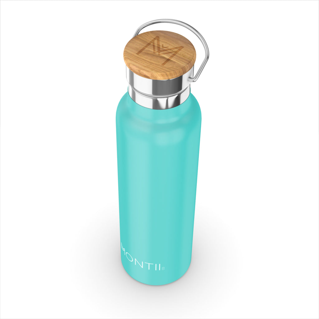 Montii Co Teal Insulated Bottle 600ml