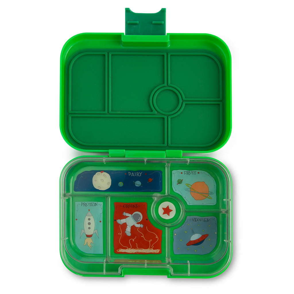 Yumbox Original (6 compartment) ~Terra Green
