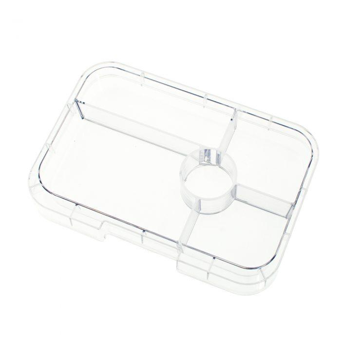 Yumbox Tapas (5-compartment) Clear Tray