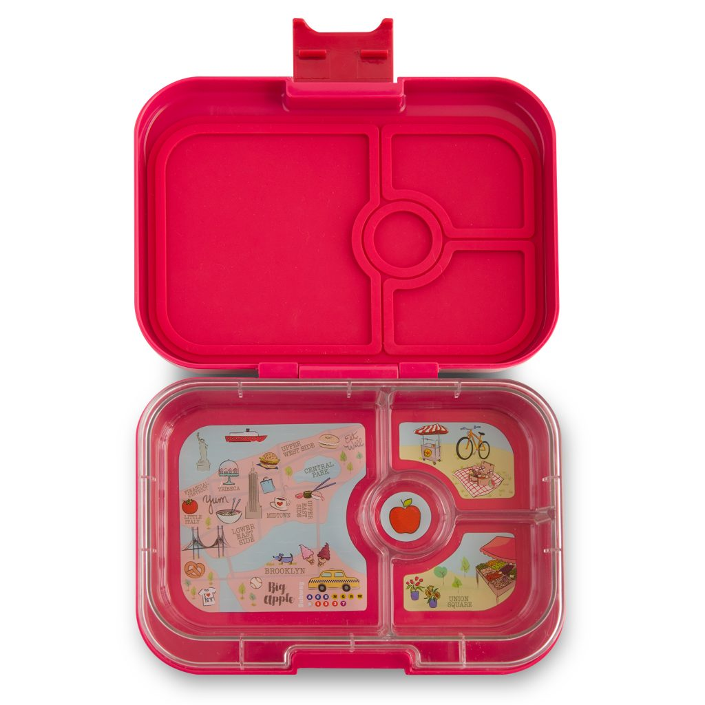 Yumbox Panino (4 compartment) ~ Tribeca pink