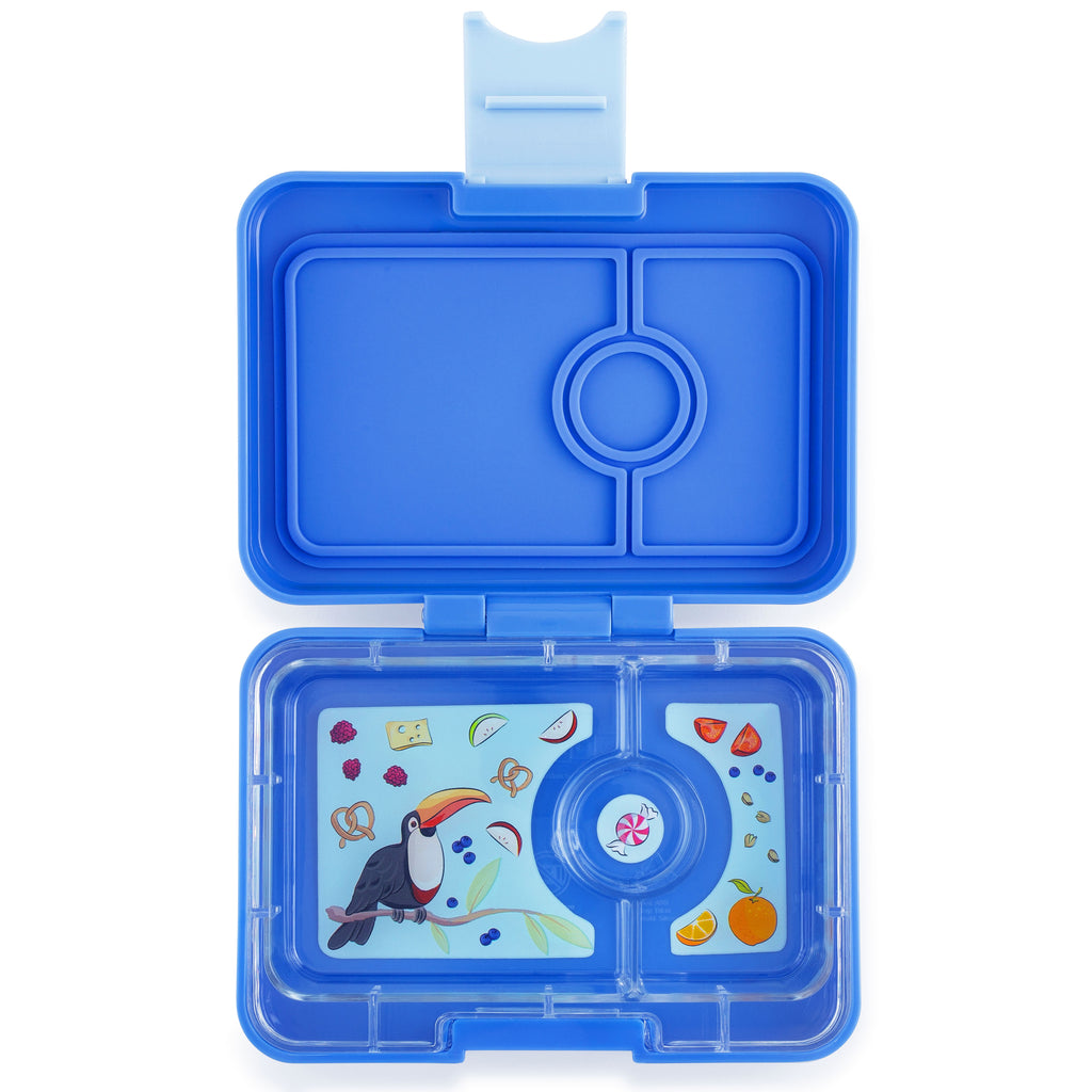 Yumbox MiniSnack   ~ True Blue ( NEW)
