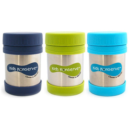 Kids Konserve Insulated Food Jar - Ocean ( New )