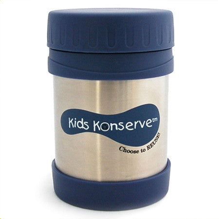 Kids Konserve Insulated Food Jar - Ocean