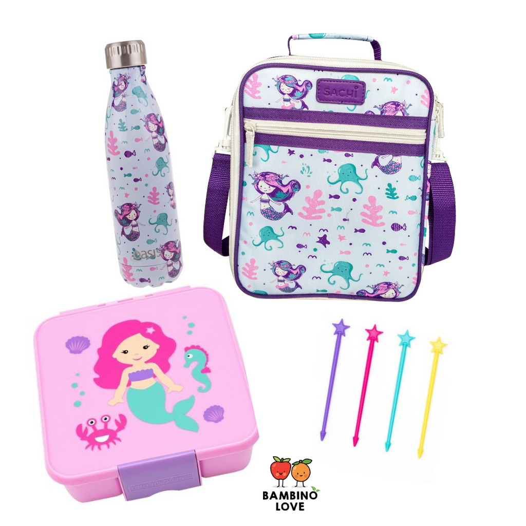 Mermaid Lunch box combo