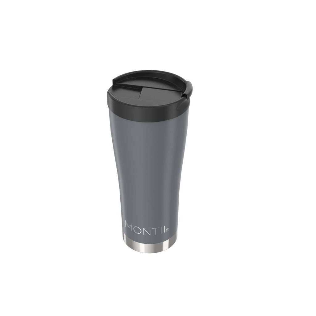 Montii Reusable Coffee Cup ~ NEW  ~ GREY