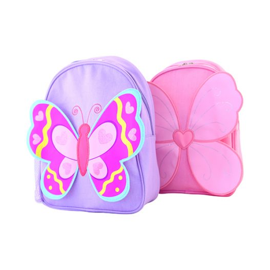 Giggle Me Pink Backpack ~ Butterfly Backpack