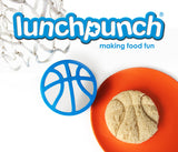 Lunch Punch Sporty Sandwich Cutter - 4 PACK ( NEW )