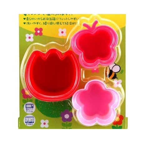 Bento Silicone Colorful Food Cups - Butterfly Flower Tulip