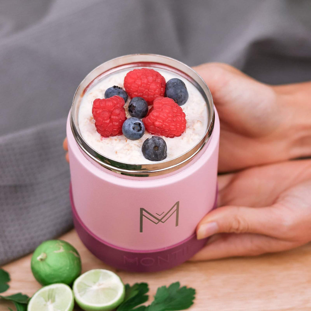 Montii Insulated Food jar ~ DUSTY PINK