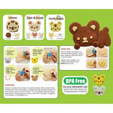 CuteZCute Bento Sandwich Cutter Cookie Stamp - Cuddle Palz
