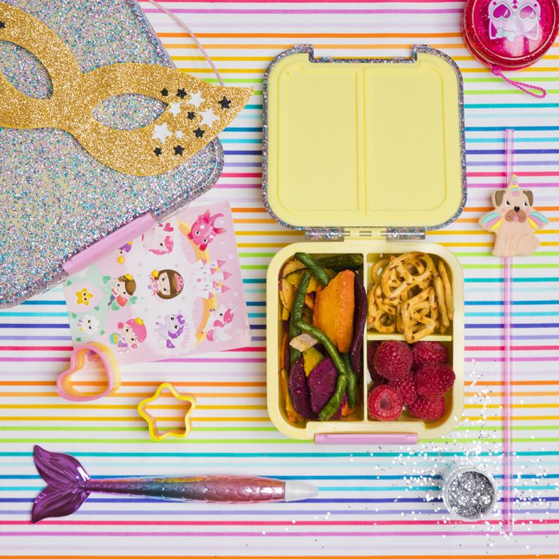 Bento Five – Yellow Glitter