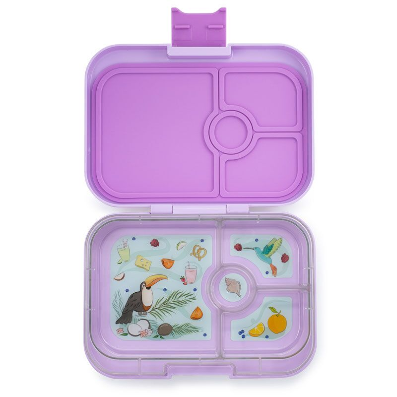 Yumbox Panino (4 compartment) ~ Lila Purple