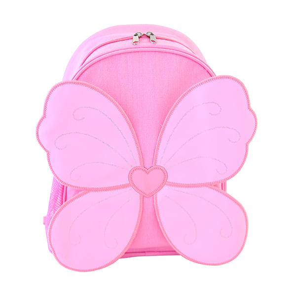 Giggle Me Pink Backpack ~ Fairy Wings Backpack