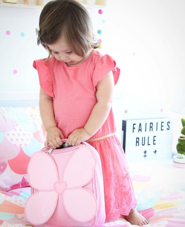 Giggle Me Pink~ Fairy Wing Lunch Bag