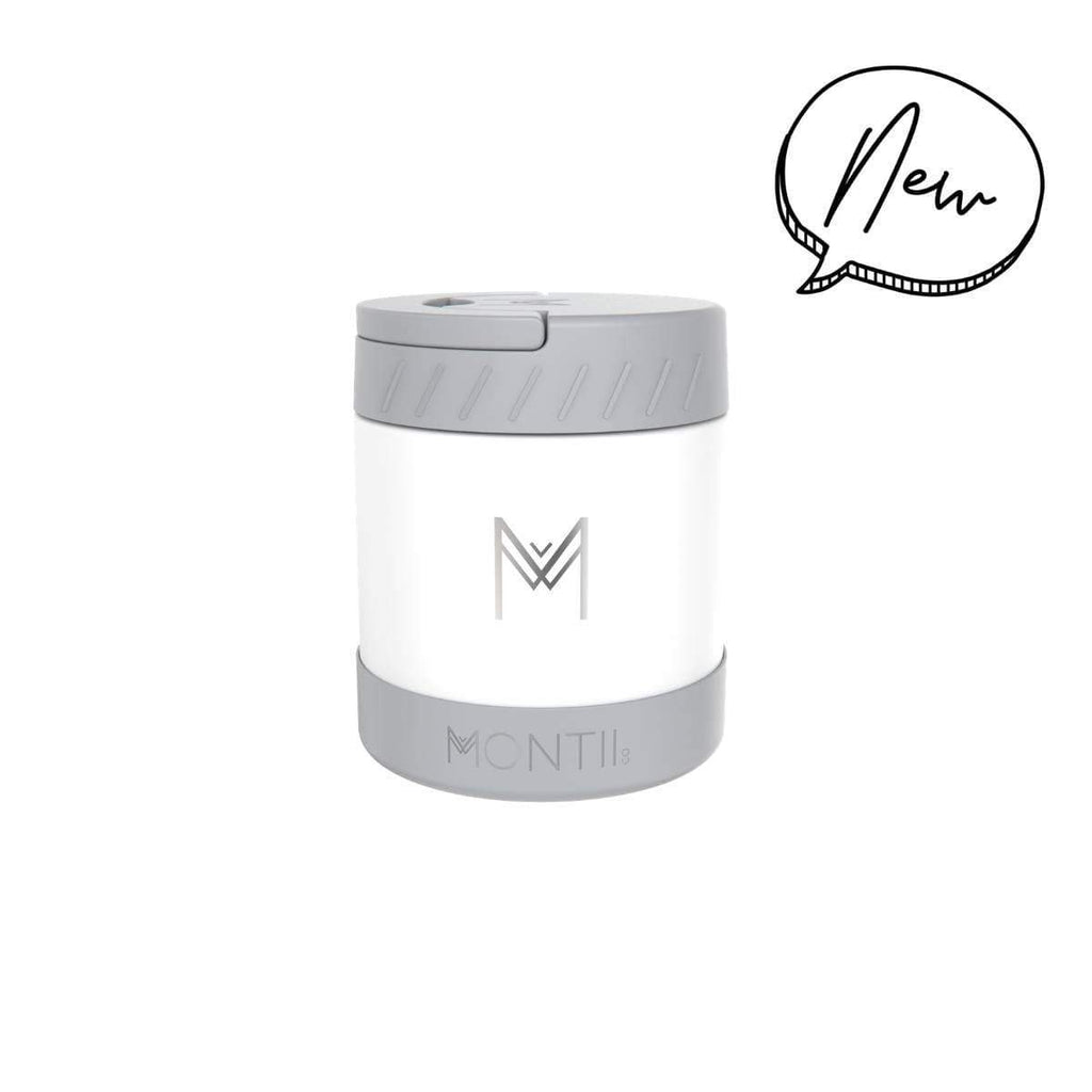 Montii Insulated Food jar ~ White