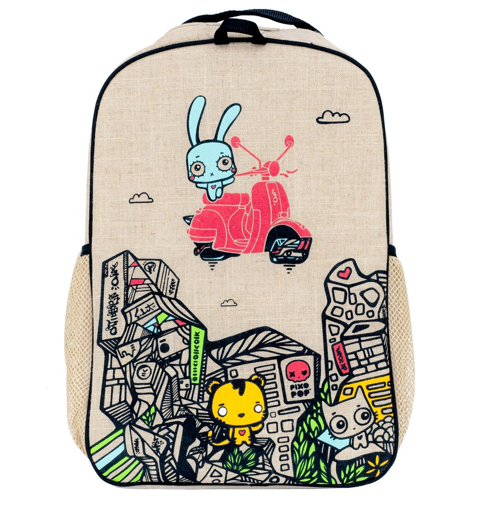 SoYoung Grade School Backpack - Pixopop Stitch Time Traveller  ( NEW )