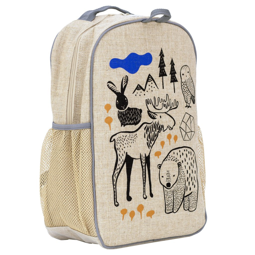 SoYoung Grade School Backpack -Wee Gallery Nordic ( NEW )