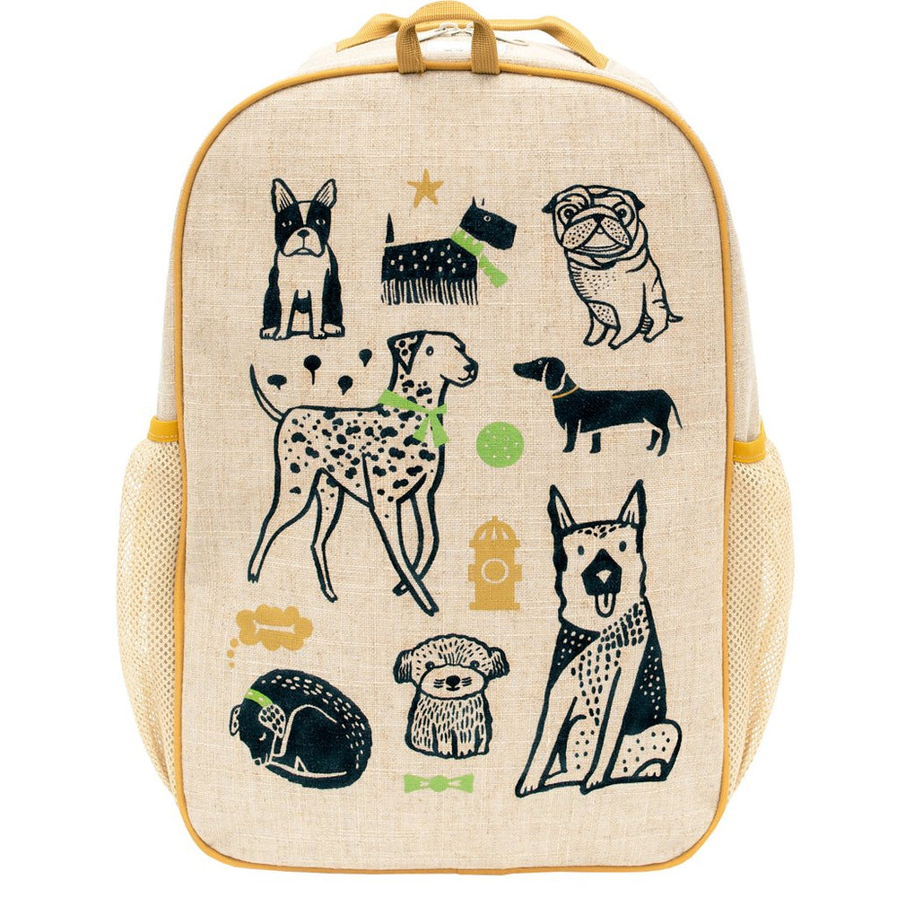 SoYoung Grade School Backpack WEE GALLERY PUPS ( NEW )
