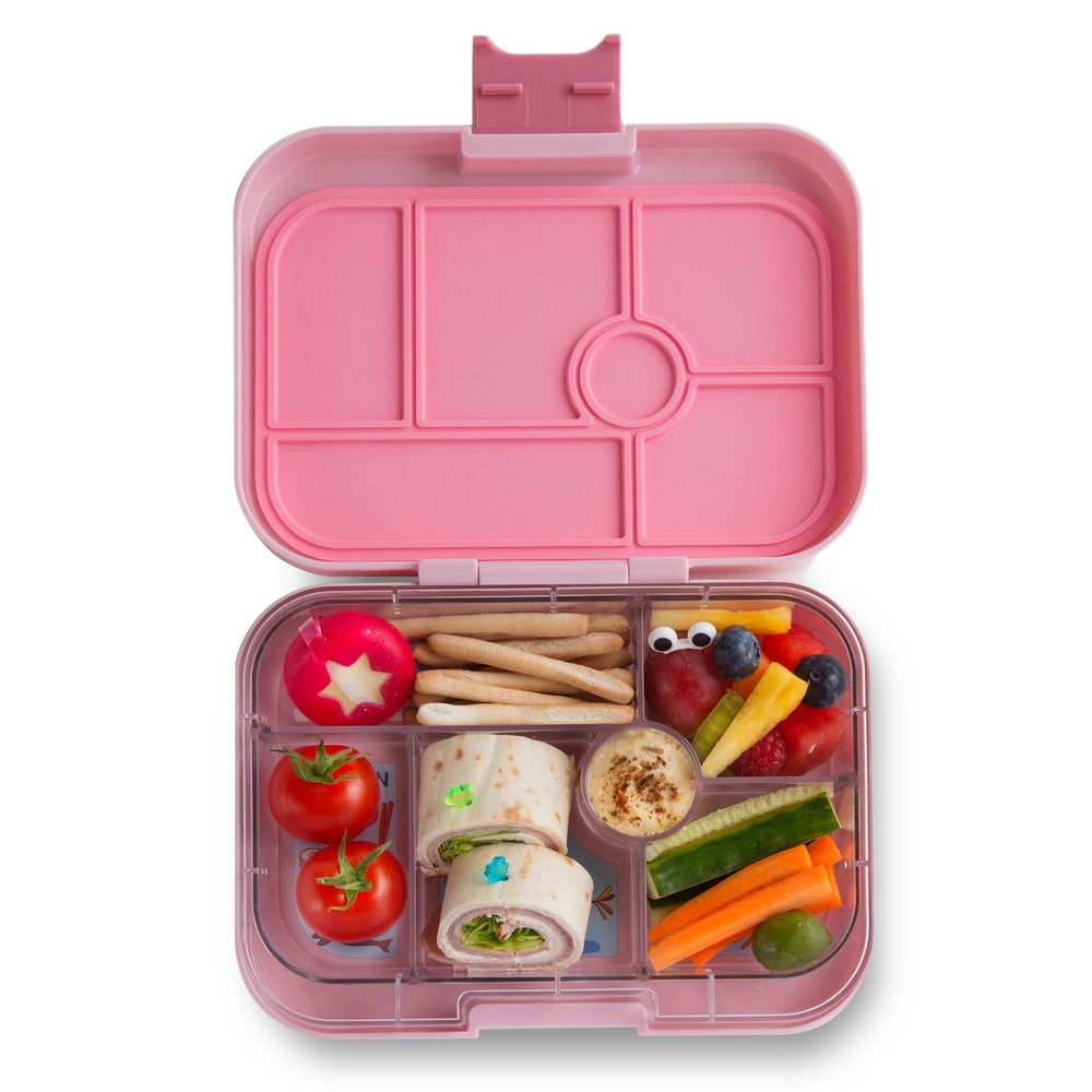 Yumbox Original (6 compartment) ~ Hollywood Pink