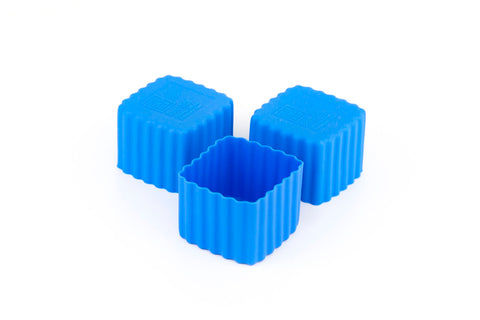 Bento Cups Square – Blue