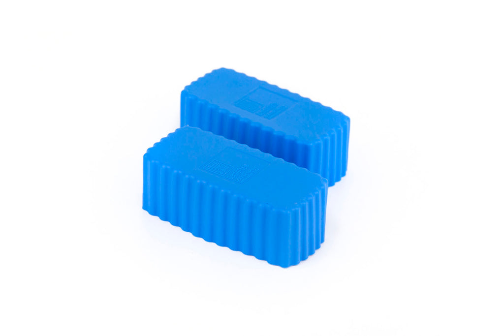 Bento Cups Rectangle – Blue
