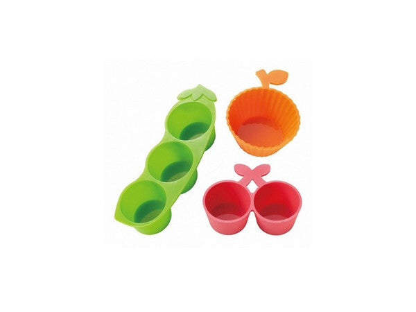 Vegetable and fruits silicone cup