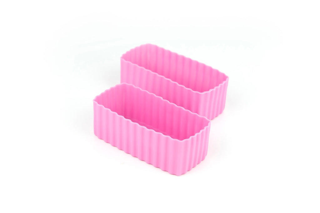 Bento Cups Rectangle – Pink
