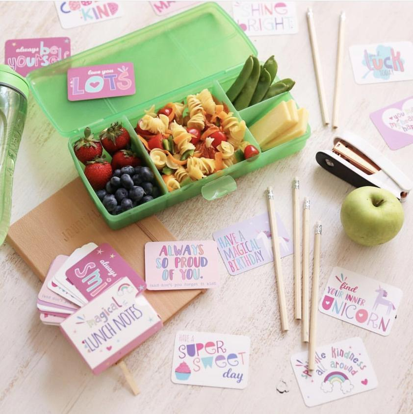 Lunchbox note ~ Magical Lunch Notes ~ Sprout and Sparrow