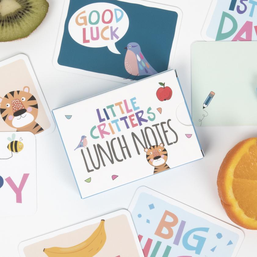 Lunchbox note ~ Little Critters Lunch Notes ~ Sprout and Sparrow