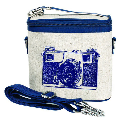 So Young Insulated Cooler Bag Large Navy Camera